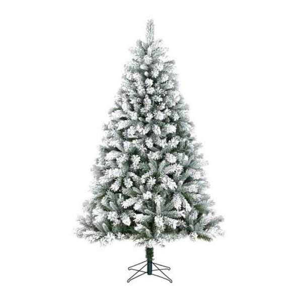 Black Box Trees - Chandler kerstboom frosted, groen - h260xd147cm