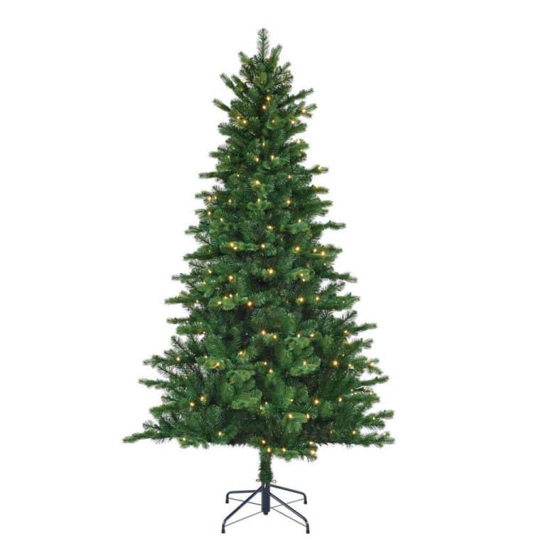 Black Box verlichte kerstboom Milton (h155 x ø94 cm)