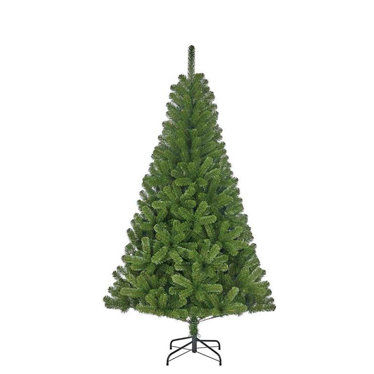 Black Box Charlton groene kunstkerstboom maat in cm 215 x 127