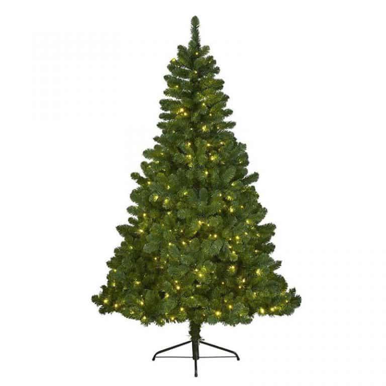 Everlands Imperial pine Kunstkerstboom - 180 cm hoog - Met verlichting met twinkel functie