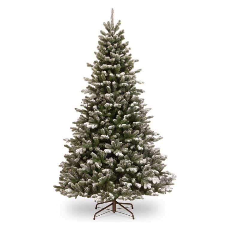 Kunstkerstboom Snowy Sheffield Spruce Hinged Tree 198cm