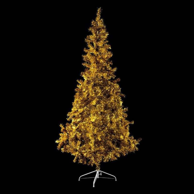 Gouden kunstkerstboom voor buiten