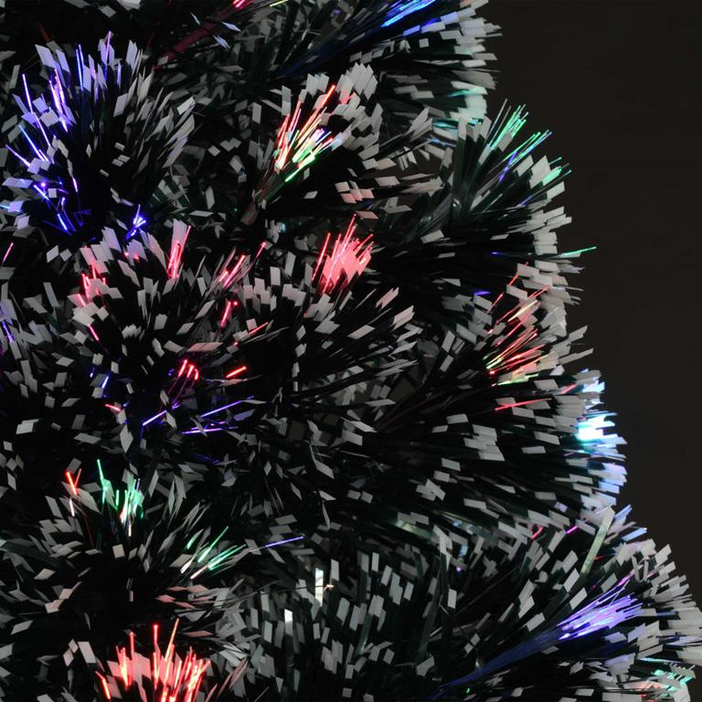 Kunstkerstboom voor buiten met gekleurde verlichting