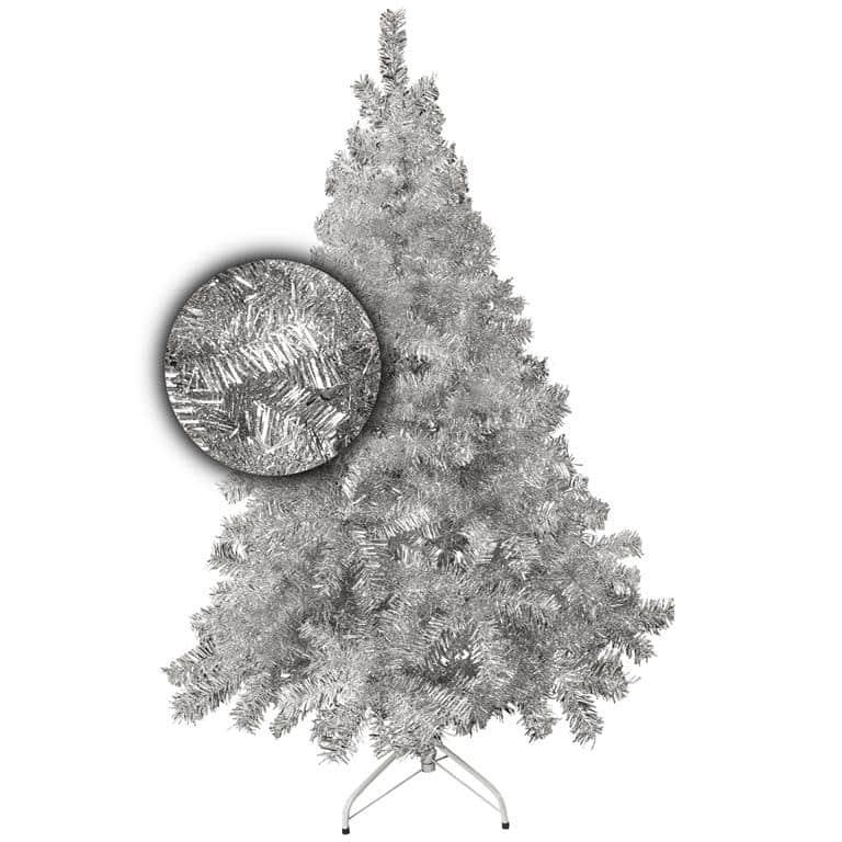 Luxe kunstkerstboom 200 cm stavanger zilver