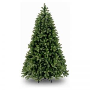 National Tree Company Poly Cambridge Spruce Kunstkerstboom - 122 cm - Brandvertragend - Metalen voet
