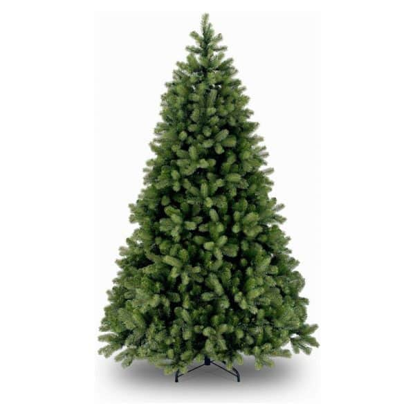 National Tree Company Poly Cambridge Spruce Kunstkerstboom - 122 cm - Brandvertragend - Metalen voet