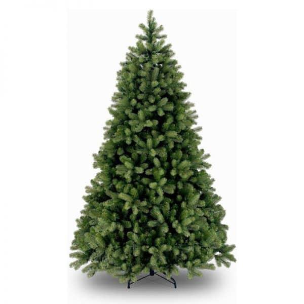 National Tree Company Poly Cambridge Spruce Kunstkerstboom - 213 cm - Brandvertragend - Metalen voet