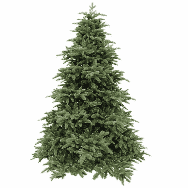 Triumph Tree kunstkerstboom deluxe abies nordmann maat in cm: 215 x 155 donkergroen