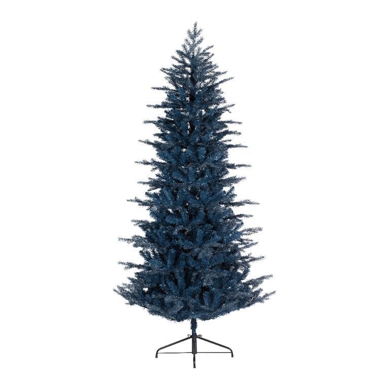 blauwe kunstkerstboom 200 cm hoog