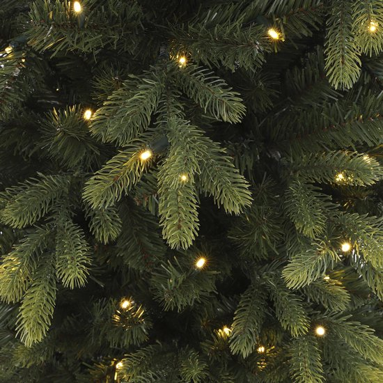 Black Box Trees Dayton Kunstkerstboom met LED Verlichting - H215 x Ø124cm - Groen